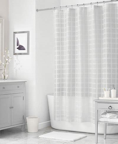martha stewart shower curtains martha stewart collection 72 quot x 72 quot woven check shower