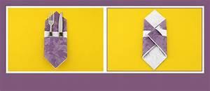 Papierservietten Falten Anleitung : papierservietten falten sch ne bestecktasche ~ Frokenaadalensverden.com Haus und Dekorationen