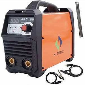 HITBOX ARC Welder ARC160A Stick Welding Machine Digital ...