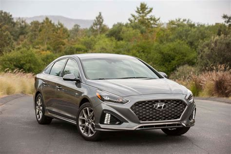 2018 Hyundai Sonata First Drive Review  Motor Trend