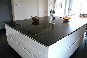 Plan De Travail Granit Pas Cher : ilot centrale de cuisine amanda ricciardi ~ Premium-room.com Idées de Décoration