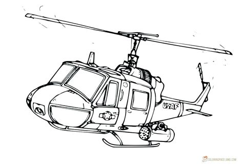 Huey Helicopter Coloring Pages 28 Images Huey Helicopter