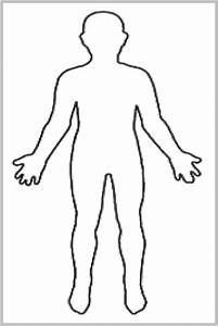Human Body Unlabeled Diagram