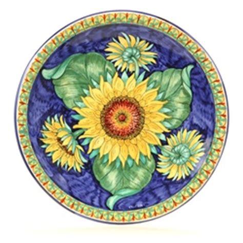 tuscan decorative wall plates tuscan sunflowers large decorative plate