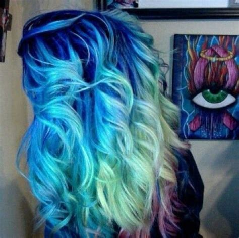 Get Inspirations From Bright Ombre Hair Colors Womens