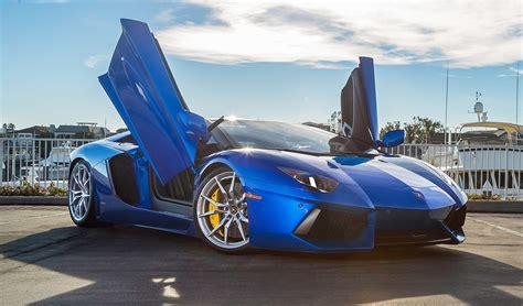 blu nethuns lamborghini aventador roadster  sale