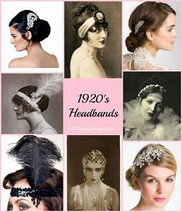 1920s Style Flapper Headbands, Headdresses, Wigs | 1920s ...