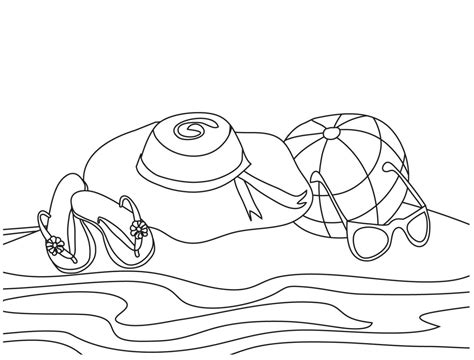 Coloring Book For Kid : Free Printable Beach Coloring Pages For Kids