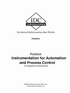 Practical Instrumentation For Automation And Process