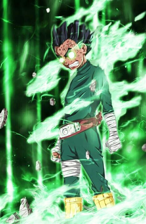 rock lee naruto manga personagens de anime anime