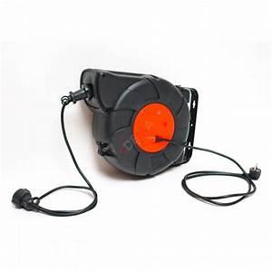 Enrouleur De Cable Electrique : enrouleur automatique de c ble lectrique 24 m ~ Edinachiropracticcenter.com Idées de Décoration