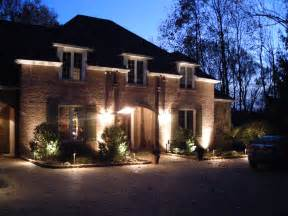 outdoor lighting all green sprinklers lighting