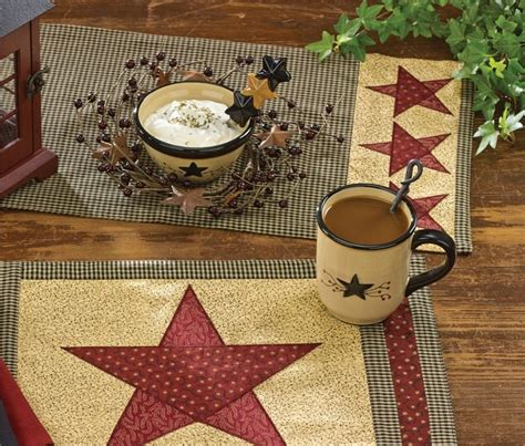 park designs table runner country star table runner 13 quot x 54 quot park designs