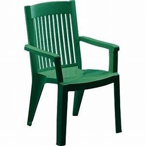 Chaise De Jardin Verte : fauteuil resine fidji 5 vert tous les produits salon ~ Teatrodelosmanantiales.com Idées de Décoration