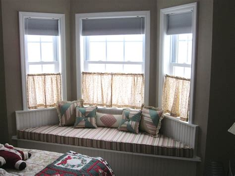 window ideas bay window seat for comfortable seating area at home