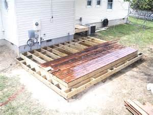 free standing ipe deck 9hammers