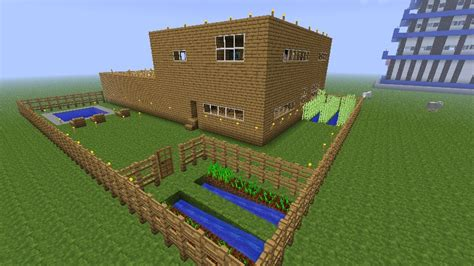 house  backyard minecraft map