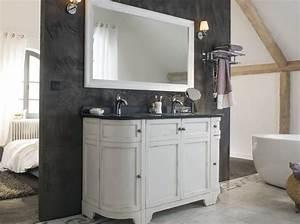 un meuble ancien pour ma salle de bains elle decoration With superb meuble style maison du monde 15 miroir de style industriel design