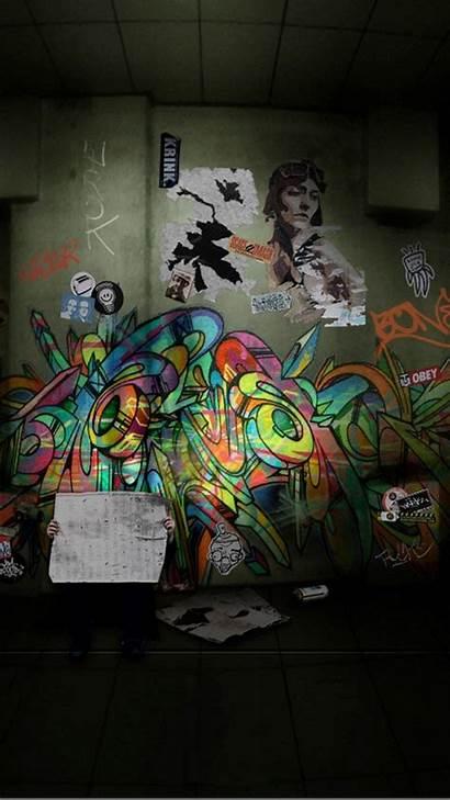 Graffiti Iphone Wallpapers Wall Resolution Screensaver Screensavers