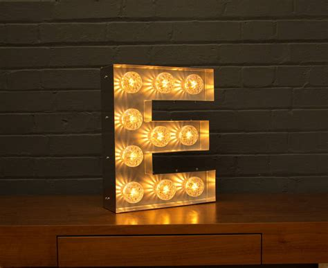 E Light by Light Up Marquee Bulb Letters E By Goodwin Goodwin