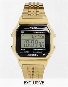 VINTAGE TIMEX DIGITAL WATCHES Wrocawski Informator