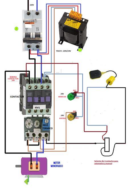 solucionado llave conmutadora rele y contactor automatico de tanque yoreparo