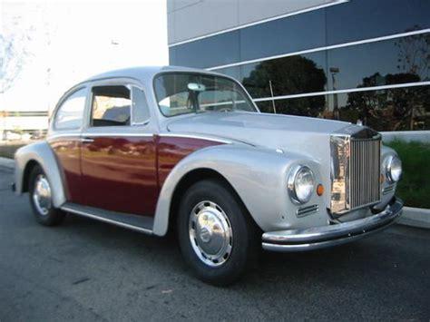Rolls Royce Volkswagen by 1972 Beetle Volkswagen With Rolls Royce Kit
