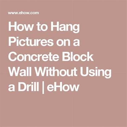 Hang Walls Block Cinder Without Concrete Hanging