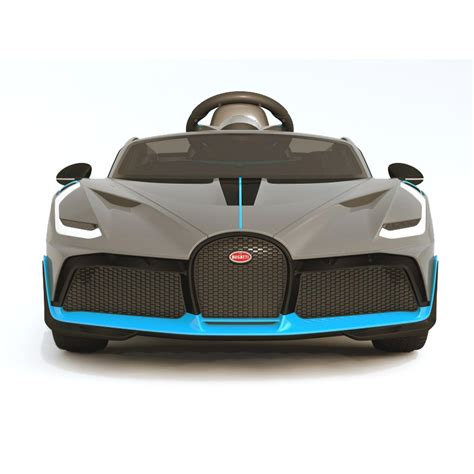 Bugatti was founded in 1909 by ettore bugatti, and his cars were known during that time for astonishing beauty and blistering performance. Children's electric car Bugatti Divo License (exclusive) - UFT