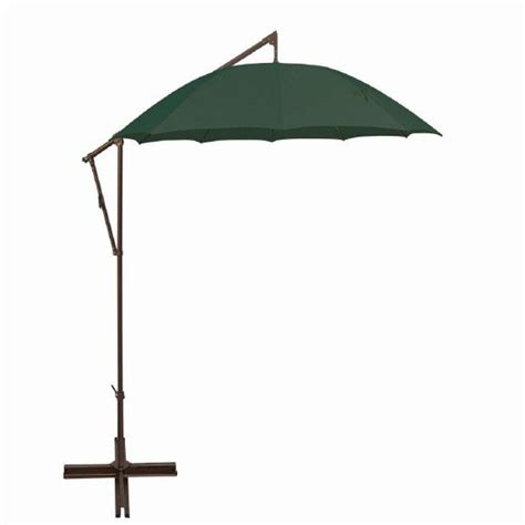 best patio umbrella base for wind cantilever patio umbrellas won t obstruct the view
