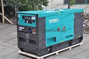 20kw Denyo Generator - 25esx  China Manufacturer