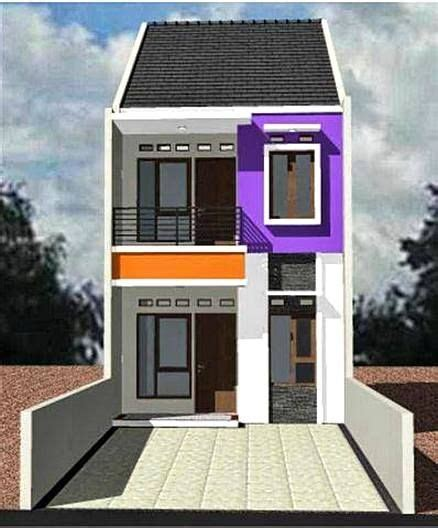 model rumah minimalis 2 lantai sederhana kecil desain