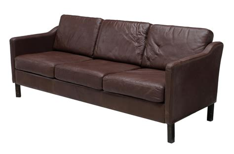 midcentury leather sofa mid century modern leather sofa march estates auction day one auction gallery