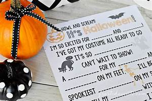 Halloween Games For Kids Madlibs Fun