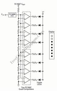 meter circuit page 7 meter counter circuits nextgr With frequency to voltage converter change your voltmeter to frequency meter