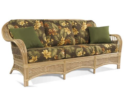 rattan sofa tropical