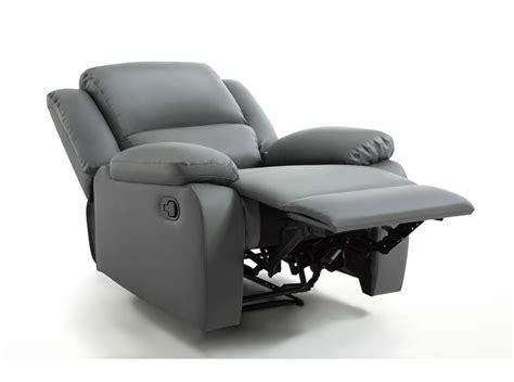 canapé de relaxation pas cher fauteuil relaxation 1 place simili cuir detente