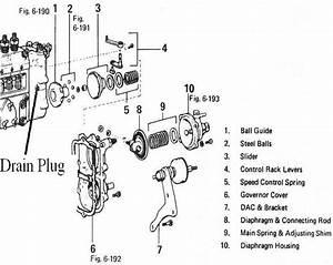 Nissan Diesel Pump Diagram