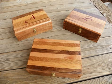 handmade dovetailed box   wood types  elegant