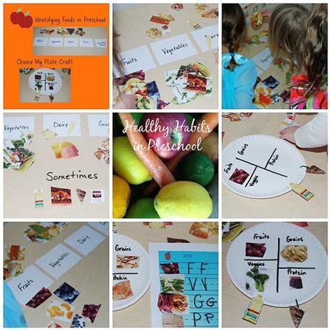healthy food habits in preschool sorting and a paper 841 | Healthy Habits with Foods in Preschool