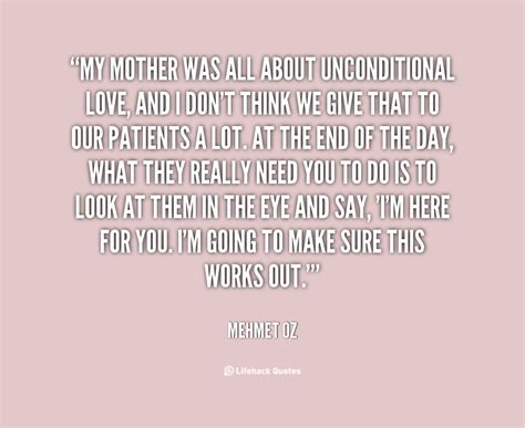 Mom Unconditional Love Quotes