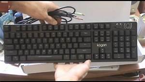 Unboxing: Kogan Mechanical Keyboard - YouTube