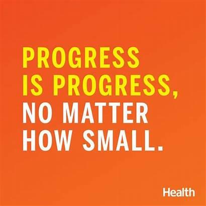 Health Quotes Inspirational Sayings Progress Matter Motivation