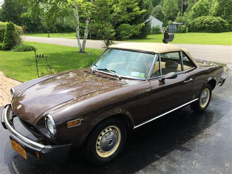 1978 Fiat Spider For Sale by 1978 Fiat 124 Spider For Sale 2278147 Hemmings Motor News