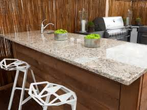outdoor kitchen countertops pictures tips expert ideas hgtv - Outdoor Kitchen Countertops Ideas