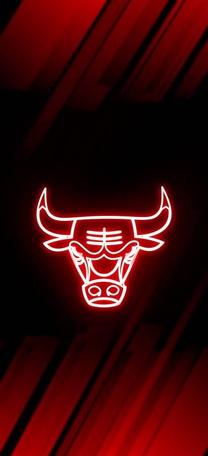 Bulls Chicago Wallpapers Neon Nba Jordan Basketball