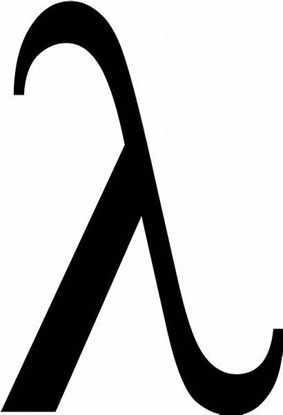 Lambda Symbol Vector Clipart Cc0 1264 1995