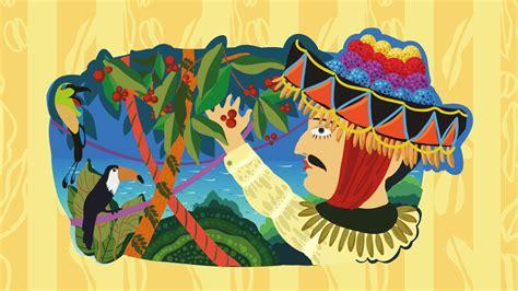 Dibujo De Un Hombre Con Vestimenta Típica De Nicaragua