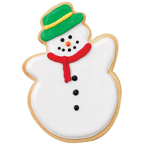 traditional snowman cookie wilton