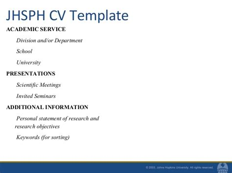 resume additional information exles resumes and cvs for mph students fall 2010